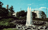 The Fountain at Dow Chemicals - Sarnia,Ontario,Canada Retro Postcard
