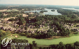 Aerial View - Oak Pointe - Brighton,Michigan Vintage Postcards