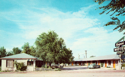 Retro Postcard - Supai Motel - Seligman,Arizona Route 66