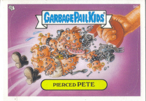Garbage Pail Kids 2003 #34b Pierced Pete