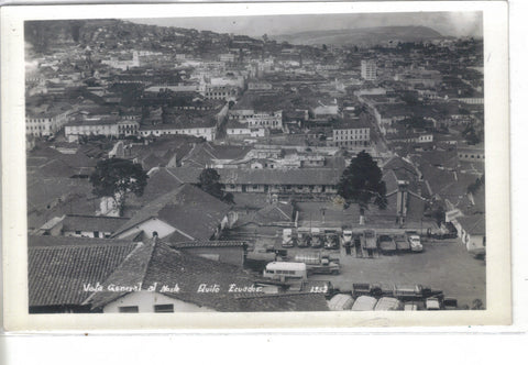 RPPC-General View of Quito,Ecudor - Cakcollectibles - 1