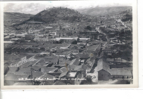 RPPC-General View of Quito,Ecuador - Cakcollectibles - 1