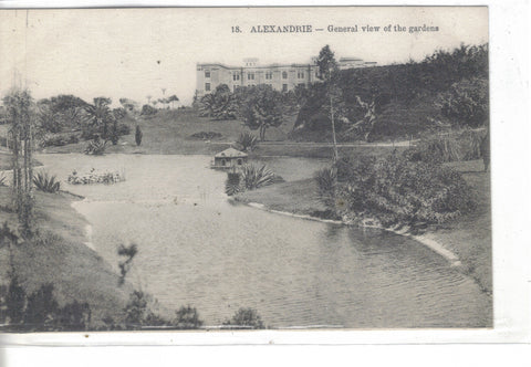 General View of The Gardens-Alexandrie,Egypt