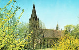 Packer Memorial Church - Bethlehem,Pennsylvania Retro Postcard