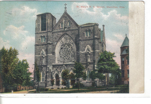 St. Mary's R.C. Church-Massillion,Ohio 1907