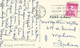 Vintage Postcard Back - Greetings from Tulsa,Oklahoma