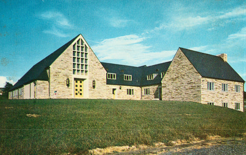Blacksburg Presbyterian Church - Virginia Vintage Postcard