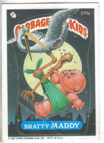 Garbage Pail Kids 1987 #271a Bratty Matty