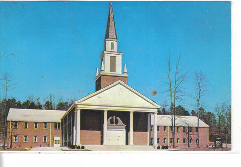 New First Baptist Church Building-Jacksonville,Alabama - Cakcollectibles - 1