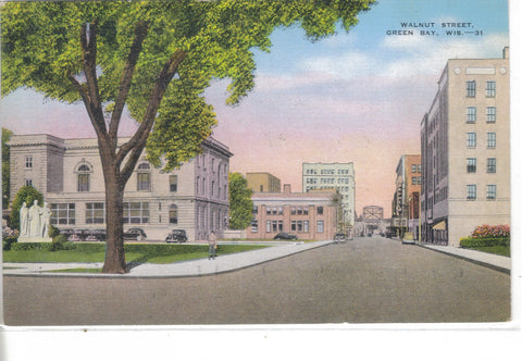 Walnut Street-Green Bay,Wisconsin - Cakcollectibles - 1