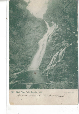 Black River Falls-Superior,Wisconsin UDB - Cakcollectibles - 1