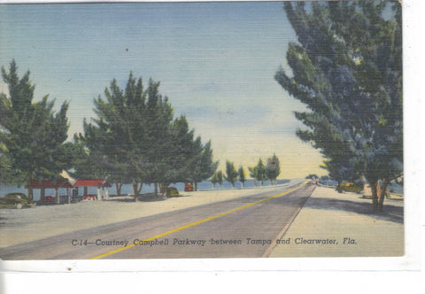 Courtney Campbell Parkway between Tampa and Clearwater,Florida - Cakcollectibles - 1