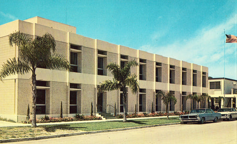 Venice Hospital - Venice,Florida front of vintage postcard.Buy old postcards here