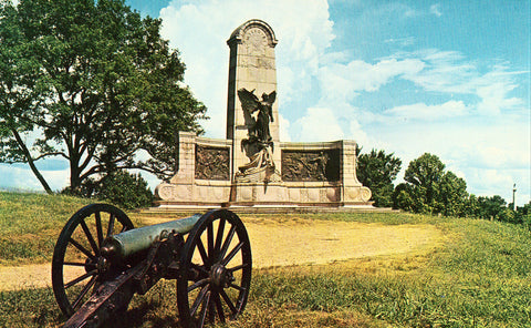 Vicksburg National Military Park - Mississippi front of old postcard.Buy postcards here