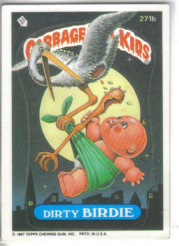 Garbage Pail Kids 1987 #271b Dirty Birdie.Buy GPK stickers here