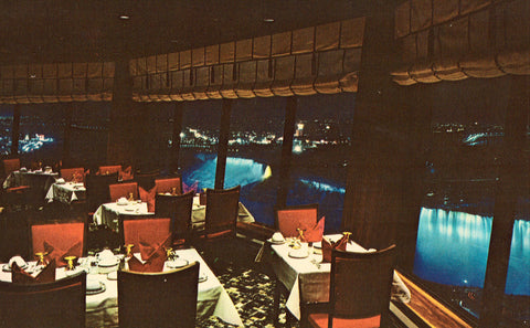The Crown Suite Dining Rooms - Niagara Falls,Ontario,Canada Vintage Postcard Front