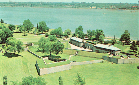Aerial View of Old Fort Erie - Fort Erie,Ontario,Canada