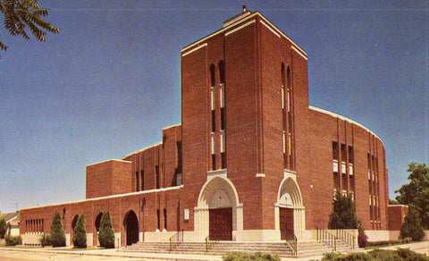 College Church,Northwest Nazarene College - Nampa,Idaho.Vintage Postcard Front