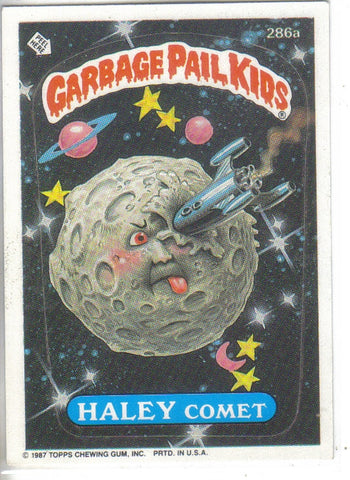 Garbage Pail Kids 1987 #286a Haley Comet