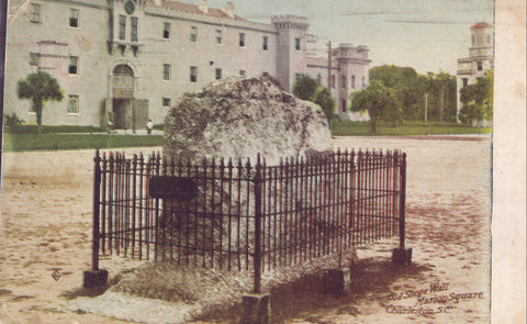 Old Slege Wall,Marion Square-Charleston,South Carolina - Cakcollectibles - 1
