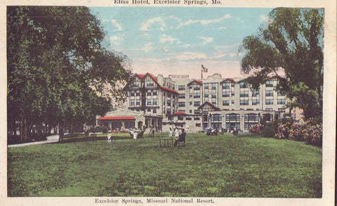 Elms Hotel-Excelsior Springs,Missouri - Cakcollectibles - 1