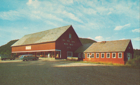 Big Red Barn,Home of Vermont Treenware-Bellows Falls,Vermont - Cakcollectibles - 1