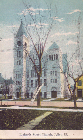 Richards Street Church-Joliet,Illinois - Cakcollectibles - 1
