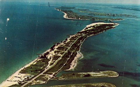 Aerial View - Sand Key Condominiums - Florida