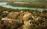 Vintage Postcard Front Aerial View - Luther Hospital - Eau Claire,Wisconsin