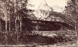 RPPC - Grand Teton from Cottonwood Creek - Jackson Hole,Wyoming