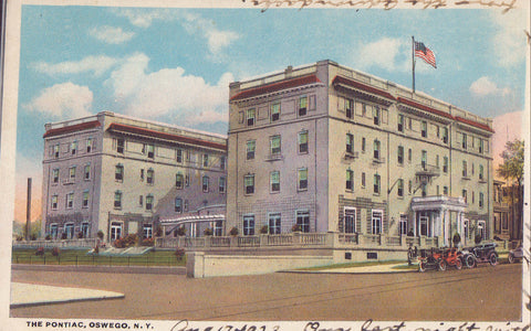 The Pontiac Hotel-Oswego,New York - Cakcollectibles - 1