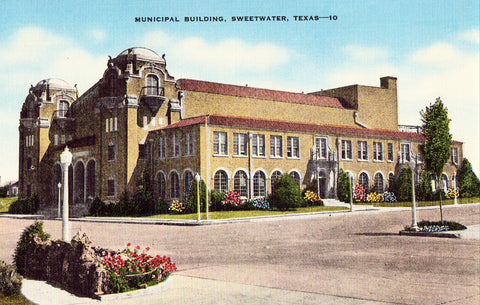 Municipal Building - Sweetwater,Texas