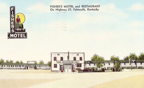 Fisher's Motel and Restaurant - Falmouth,Kentucky