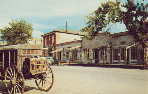 Wallace Street-Virginia City,Montana - Cakcollectibles - 1