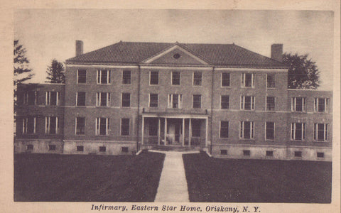 Infirmary,Eastern Star Home-Oriskany,New York - Cakcollectibles - 1