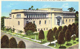 Museum of Natural History - Balboa Park - San Diego,California Linen Postcard Front