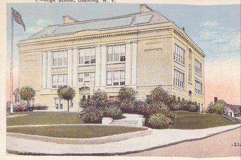 High School-Ossining,New York - Cakcollectibles - 1