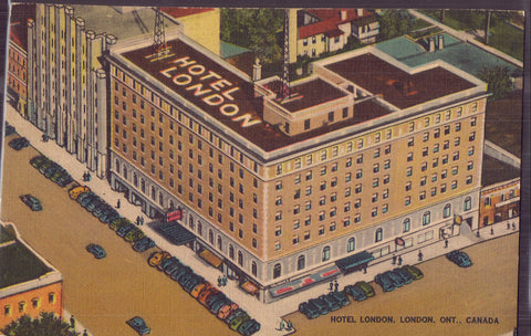 Hotel London-London,Ontario,Canada 1946 - Cakcollectibles - 1
