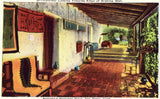 Corridor,Ramona's Marriage Place - San Diego,California.Vintage postcard front