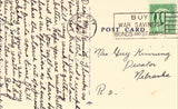 Lutheran Hospital - Sioux City,Iowa.Linen postcard back