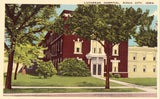 Lutheran Hospital - Sioux City,Iowa.Linen Postcard Front