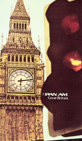 Advertising Postcard Front - Pan Am - Great Britain
