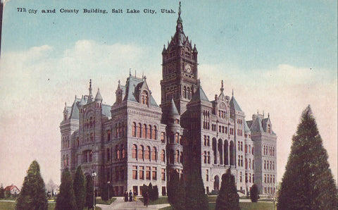 City and County Building-Salt Lake City,Utah - Cakcollectibles - 1