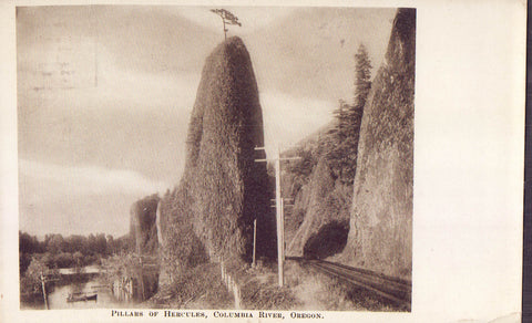 Pillars of Hercules-Columbia River-Oregon - Cakcollectibles - 1