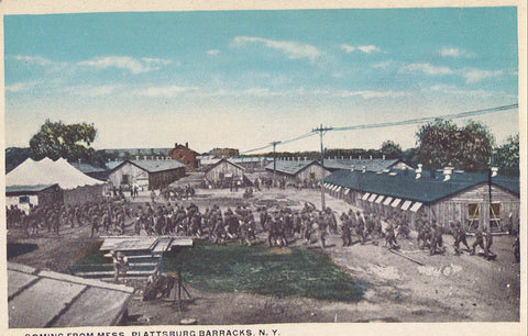 Coming from Mess,Plattsburg Barracks-New York - Cakcollectibles - 1