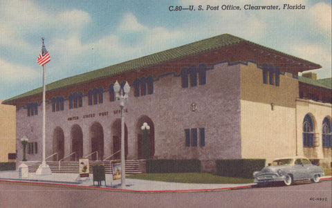 U.S. Post Office-Clearwater,Florida