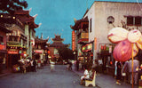 Chinatown - Los Angeles,California Vintage Postcard Front