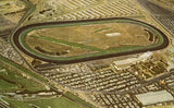 Vintage Postcard Front - Aerial View of Del Mar Turf Club - Del Mar,California
