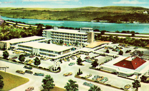 Marriott Key Bridge Motor Hotel - Washington,D.C. Vintage Postcard Front