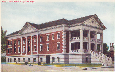 Elks Home-Cheyenne,Wyoming - Cakcollectibles - 1